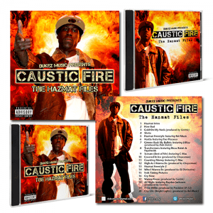 Dukez Music presents Caustic Fire: The Hazmat Files